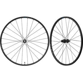 Shimano Road WH-RS370-TL Wheelset CL Thru-Axle 12mm 100mm/142mm Disc Brake Tubeless black